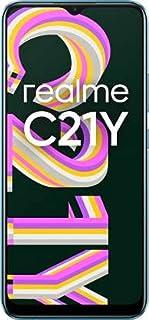 realme C21Y (Cross Blue, 4GB RAM, 64GB Storage), Medium