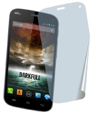 4ProTec I 2X Wiko Darkfull Premium Bildschirmschutzfolie Displayschutzfolie Schutzhülle Bildschirmschutz Bildschirmfolie Folie kristallklar