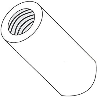 Female Pack of 10 Steel 2-56 Screw Size 0.75 Length, 0.187 OD Zinc Plated Lyn-Tron