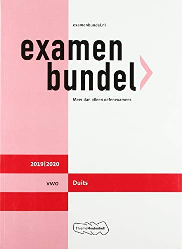 Examenbundel vwo Duits 2019/2020 (Dutch Edition)