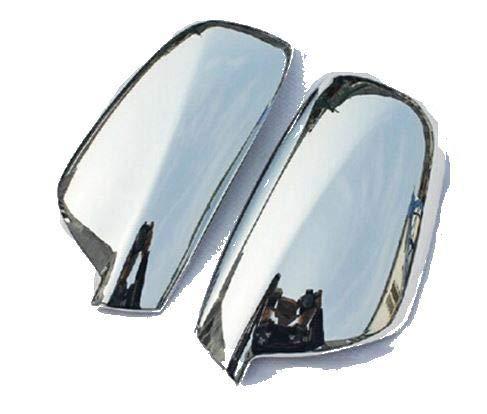 2 cubiertas cromadas para espejos laterales