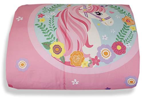 Unicorno Piumone Trapunta Caldo Invernale Letto Singolo Una Piazza cm 170 x 260 Microfibra
