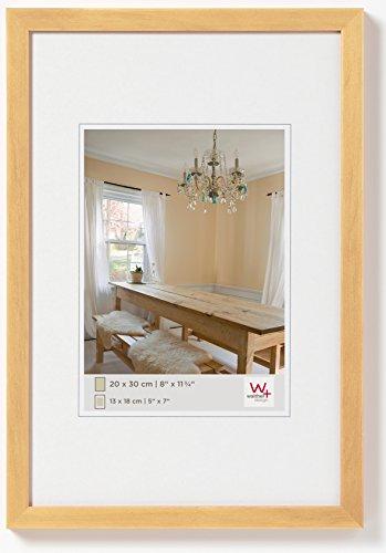 walther design BP130H Peppers Bilderrahmen, Holz, 21 x 29,7 cm(ohne Rahmen), natur