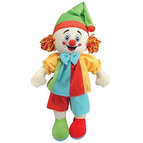Pelúcia Palhaço Peteca Soft Toys 28cm