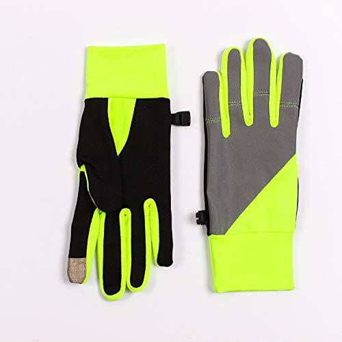 Handschoenen touch screen slimme reflecterende running dunne fitness stretch dames