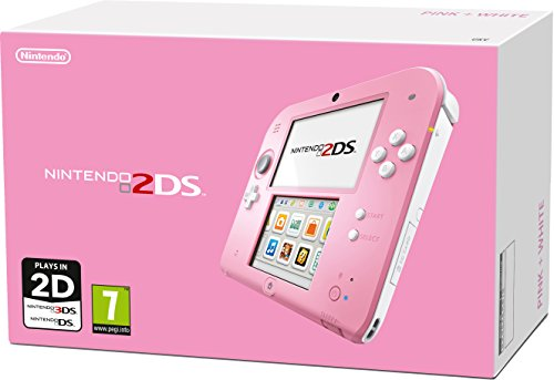 Nintendo Handheld Console 2DS - Transparent Red with Pokemon Omega Ruby