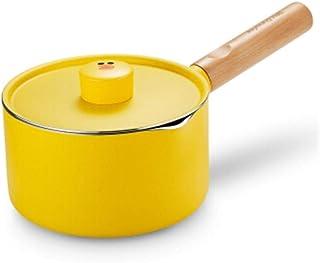 LJBH Soup Milk Pot, 16cm, Baby Complementary Food Pot, Non-stick Cooker, Instant Noodle Pot, Soup Pot, Small Milk Pot high...
