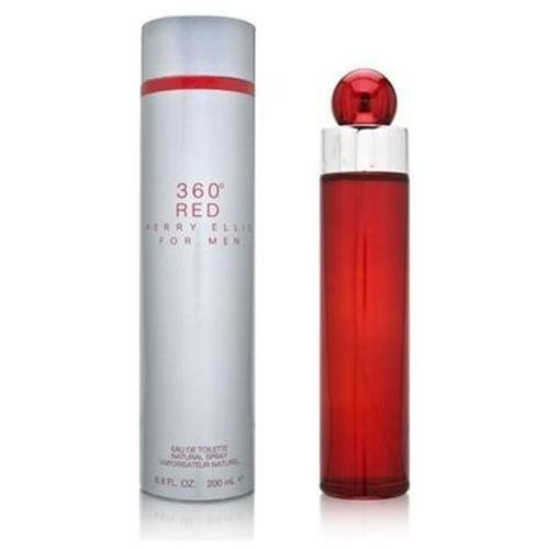 Perry Ellis 360 RED 6.8 oz EAU DE COLOGNE Men New in Box