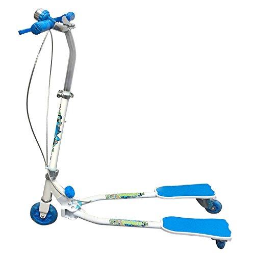 Ozbozz Schere Scooter (weiß/blau)