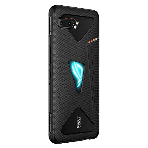 NOKOR Cover per ASUS ROG Phone 2, Il Materiale TPU Ultrasottile Custodia, Anti Impronta Digitale Phone Case [Resistente all'Usura] [Antiscivolo] - Nero