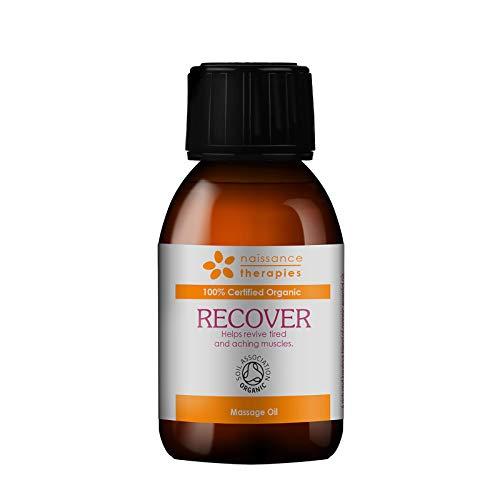 Naissance RECOVER regenerierendes Massageöl BIO zertifiziert 100ml mit Argan, Jojoba und Rosmarin