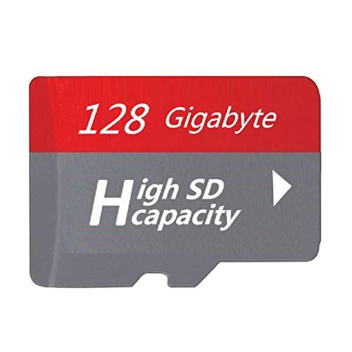 128GB 2021 新款 超高速(クラス10)TF Micro TF/SD カード メモリカード SDスピードクラス データ転送 スマホ カメラ ターブレッドPC パソコン 等 対応 128GB (2021 Gray)