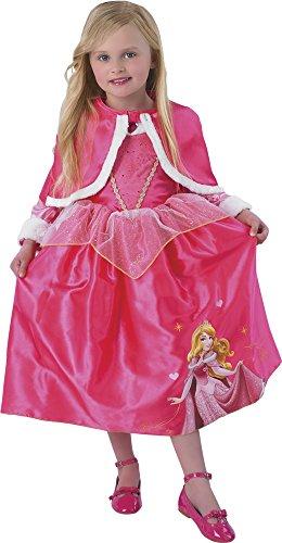 Princesas Disney - Disfraz de Bella Durmiente de Invierno para niñas, infantil 5-6 años (Rubie's 881854-M)