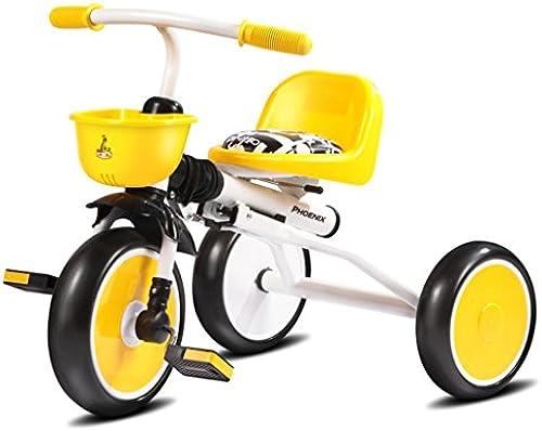 QWM-Baby Kinderfürr r Tricycle fürrad Spaßierg er Kinderwagen Kind 1-6 Jahre alt Kinderwagen Faltrad Kindergeschenk-QWM