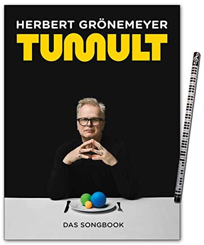 Herbert Grönemeyer Tumult - das Songbook für Klavier, Gesang und Gitarre mit Piano-Bleistift - Bosworth BOE7949 9783954562145
