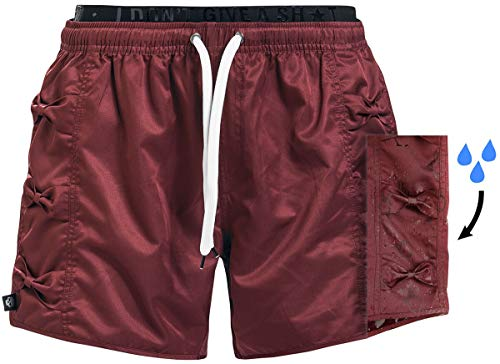 RED by EMP Mix and Match Frauen Badeshort rot M 100% Polyester Basics, Streetwear