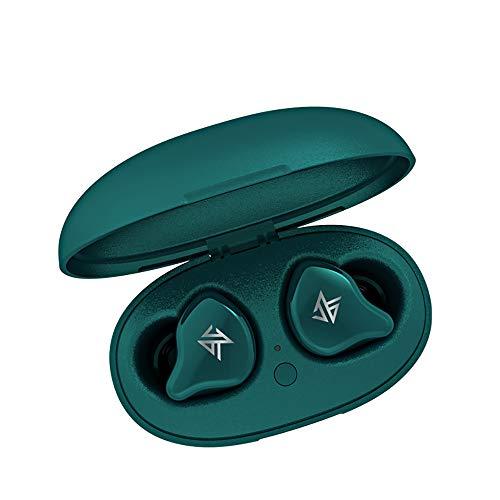 KZ S1 Bluetooth イヤホン 1DD+1BA搭載 TWS ハイブリッド イヤホン (S1‐グーリン)