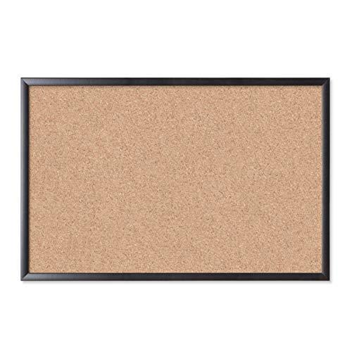 "Cork Bulletin Board, 35""x23"" () - Black Wood Frame - U Brands 301U00-01"