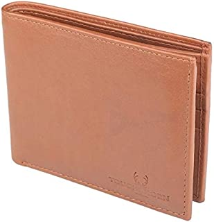 TOUGH HORN Men's Leather Wallet_THTAN00312