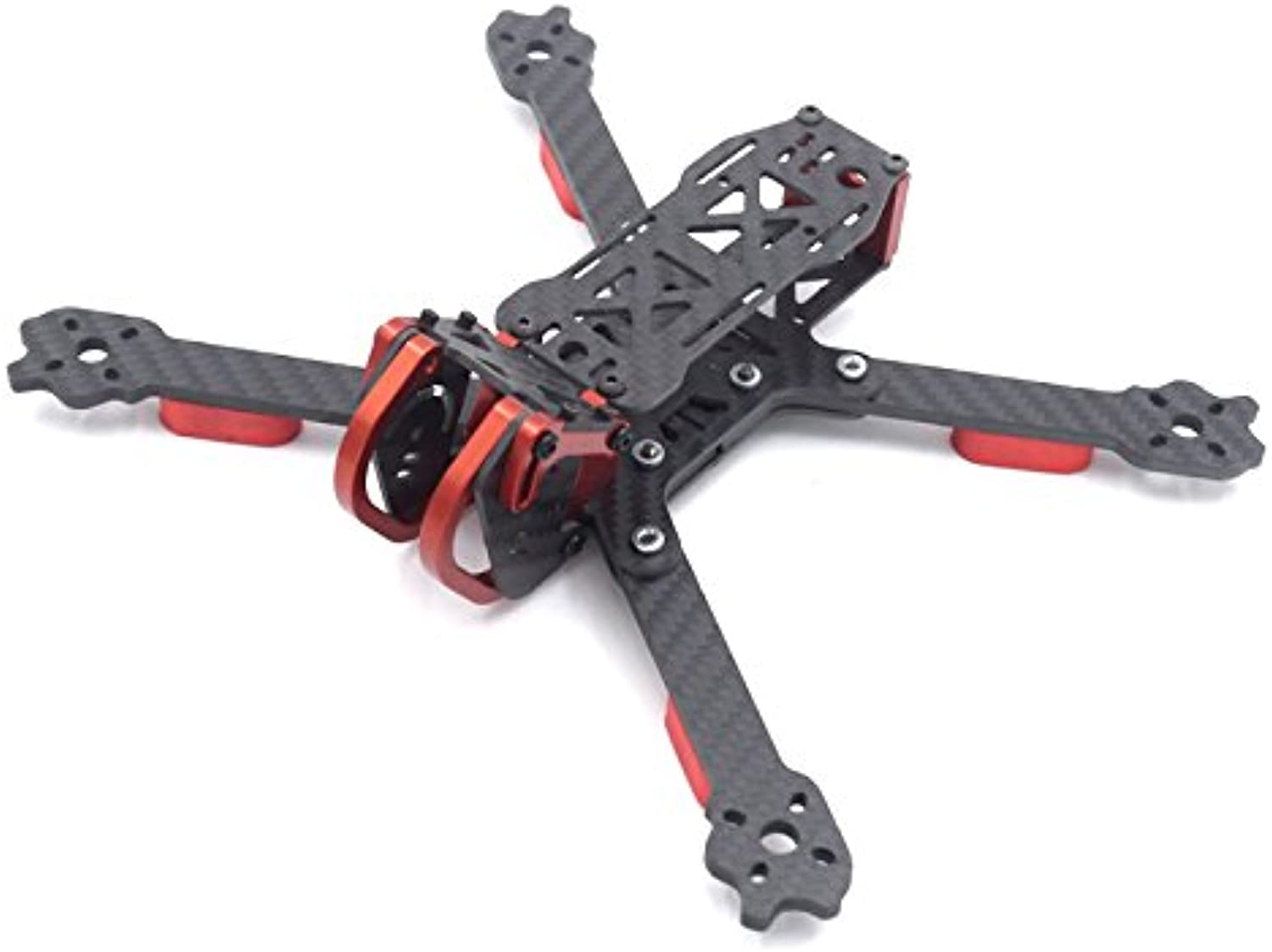 KINGDUO Leaco Fnc230 230Mm Radstand 4Mm Arm Lang x Struktur Carbonfaser FPV Racing Frame Kit