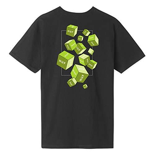 HUF 3D Box T-shirt Noir Taille L