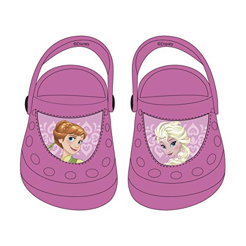 Kinderclogs Clogs Auswahl Cars Minnie Maus Frozen Kinderschuhe Flip Flops Sandalen Die Eiskönigin (Frozen, 22/23)