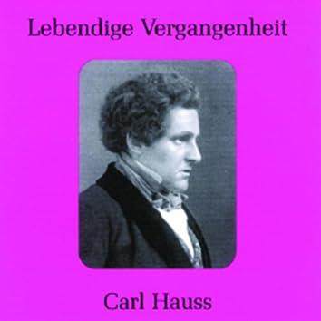 Lebendige Vergangenheit - Carl Hauss