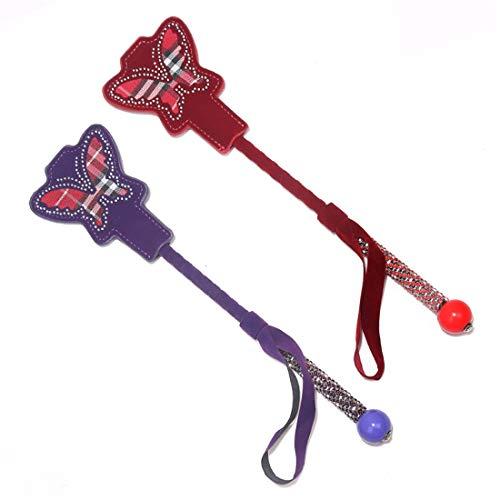 Kerr Louisa Nette erotische sm handschuss Paar flirten Spanking paddel Erwachsene geschlechtsspielwaren handspielzeug for lustige Liebe (Color : Purple)