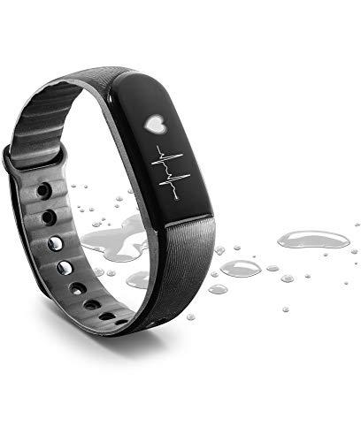 cellularline – Easy Fit HR Touchscreen Fitness Tracker Orologio con cardiofrequenzimetro e Sonno monitorare, Activity Tracker con Allarme, contatore di Calorie per Smartphone Android e iOS