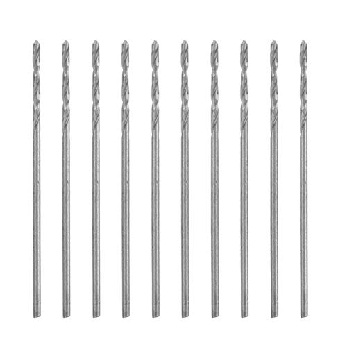 Hand Drill Bit, Straight Shank Precise 0.85mm Twist Drill for Electric Drilling Rigs