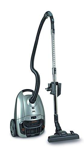 Fakir Artemis TS 150 - Zylinder-Staubsauger mit Beutel I Leiser Staubsauger mit Hochleistungsmotor I Staubsauger mit Kabel & HEPA 13 Filter für Allergiker I 9m Aktionsradius I 700 Watt