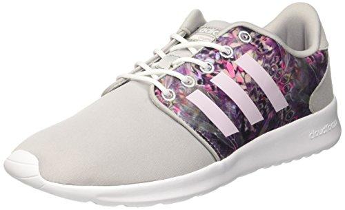adidas Damen Cloudfoam Qt Racer W Sneaker Low Hals, Blau (OniclaOrqclaFtwbla), 38 23 EU
