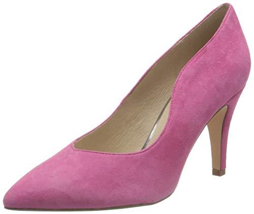 CAPRICE Damen EFFI Pumps, Pink (Fuchsia Suede 545), 40 EU