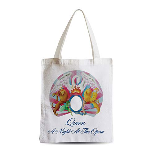 Grand Sac Shopping Plage Etudiant Queen Freddy Mercury A Night at the Opera Rock 80's