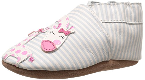 Robeez Baby Girls Little Peanut Shoes Soft Soles Traditional Silhouette