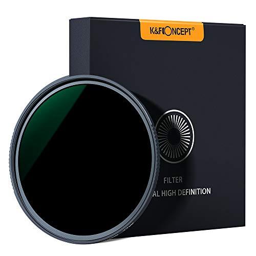 K&F Concept - Filtro para Objetivo ND 77 mm ND1000 (10 Pasos) (2Peak)