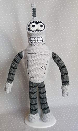 Peluche inspirado en Bender