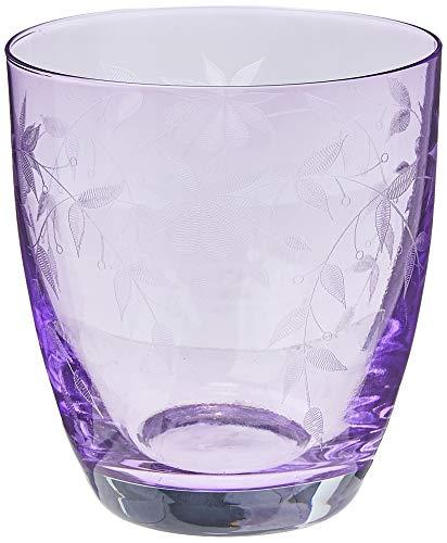 Bohemia Kristall Gläser - Floral - 6er Set - Original (Wasserglas 6 x 300 ml)
