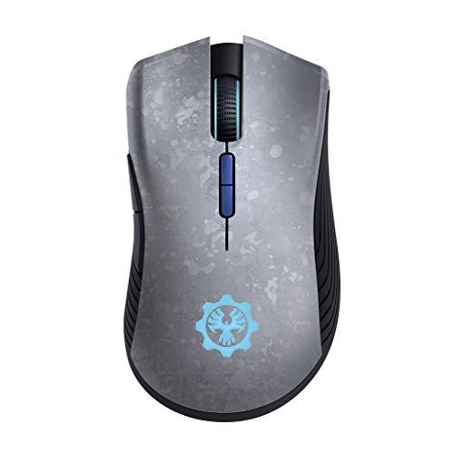 mouse wireless quadrato Razer Mamba Wireless Edizione Gears of War 5 USB Gaming Mouse per PC che Offre fino a 50 Ore di Gameplay