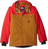 Quiksilver Boys Mission Solid Youth 10k Snow Jacket