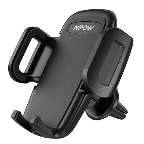 Mpow Car Phone Holder, Universal Air Vent Car Phone Mount with One Button...
