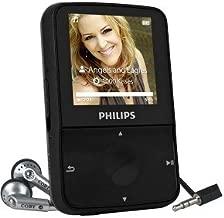 Philips GoGear ViBE SA1VBE04K 4GB USB 2.0 MP3 Digital Music/Video FM Player & Voice Recorder w/1.5