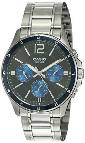 Casio Analog Black Dial Men's Watch