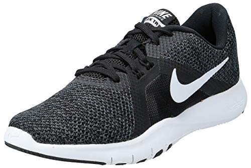 Nike Women's Flex Trainer 8, Scarpe Running Donna, Nero (Black/White/Anthracite 001), 36 EU