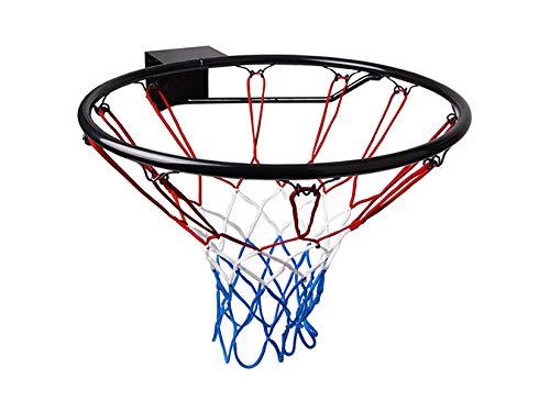 Molti Basketballkorb HangRing Basketball Basketballring mit Ring und Netz 45 cm