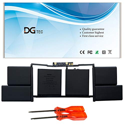 DGTEC A1820 Laptop Battery Replacement for Apple MacBook Pro 15' A1707 2016 2017 EMC 3072 EMC 3162 MLH32CH/A MLH42CH/A MLW72CH/A MLW82CH/A MPTR2LL/A MPTT2LL/A (11.4V 76Wh)