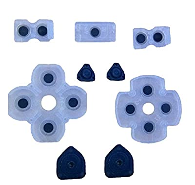 Replacement Parts All Set Of Key Pad Button Pad Conductive Buttons Kit for Playstation 4 PS4
