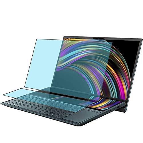 Vaxson 4 Stück Anti Blaulicht Schutzfolie, kompatibel mit ASUS ZenBook Duo UX481FL 14