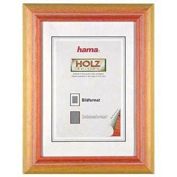 Hama Maine Amarillo - Marco (Madera, Amarillo, 13 x 18 cm, 200 mm, 300 mm)