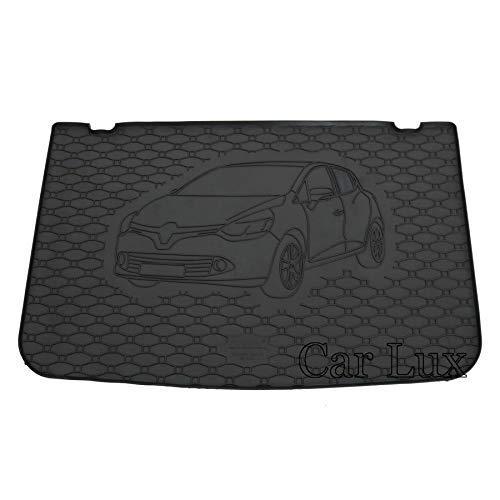 Car Lux AR05950 Tapis de protection pour coffre de voiture en caoutchouc pour Clio 4 IV à partir de 2012